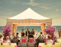 Wedding in Jesolo, a lagoon town in the province of Venice